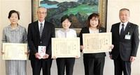 19年度農山漁村女性活躍表彰 県内2組 農水大臣賞 6次産業化など評価
