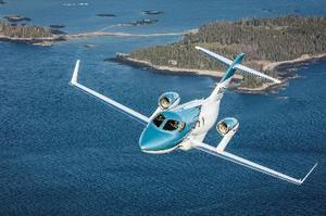 ホンダの新型ビジネスジェット機「ホンダジェットエリート」