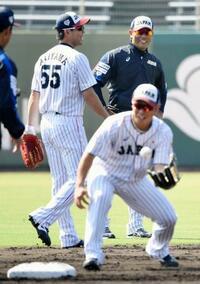 野球の日本代表が始動