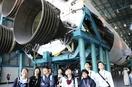 福井の中学生、NASAで実物見学