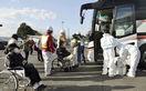 複合災害、島根原発も県外避難訓練