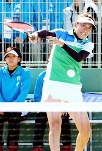 ソフトテニス 成年女子 最高4位