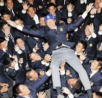 橋本笑顔「球速磨く」 中日2位 自分の力信じ挑戦 プロ野球ドラフト会議 4県勢指名