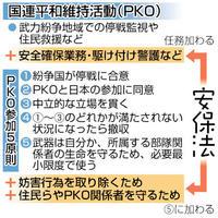 「駆け付け警護」も任務 武器使用、自衛隊PKOで 憲法知って考えよう(31)