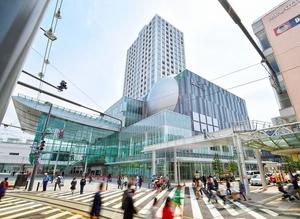 2016年4月にオープンしたハピリン=福井県福井市中央1丁目