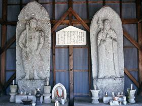 朝倉氏の帰依を受けたと伝えられる寺