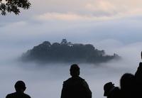 大野の「天空の城」、今秋初の絶景