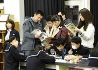 「教育旅行 適している」 中国の校長ら 福大附義務校など視察