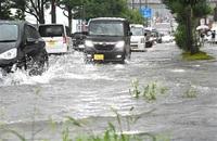 局地的大雨による水害 市、ハード対策追い付かず 排水ポンプ場 更新に10年以上 ハザードマップ周知急ぐ